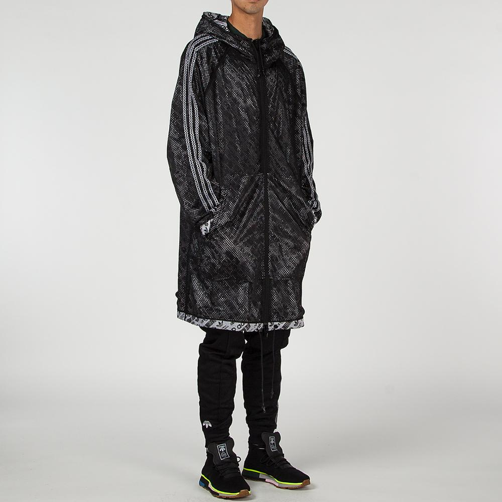 style code CW3368. ADIDAS ORIGINALS BY ALEXANDER WANG PARKA WHITE / BLACK