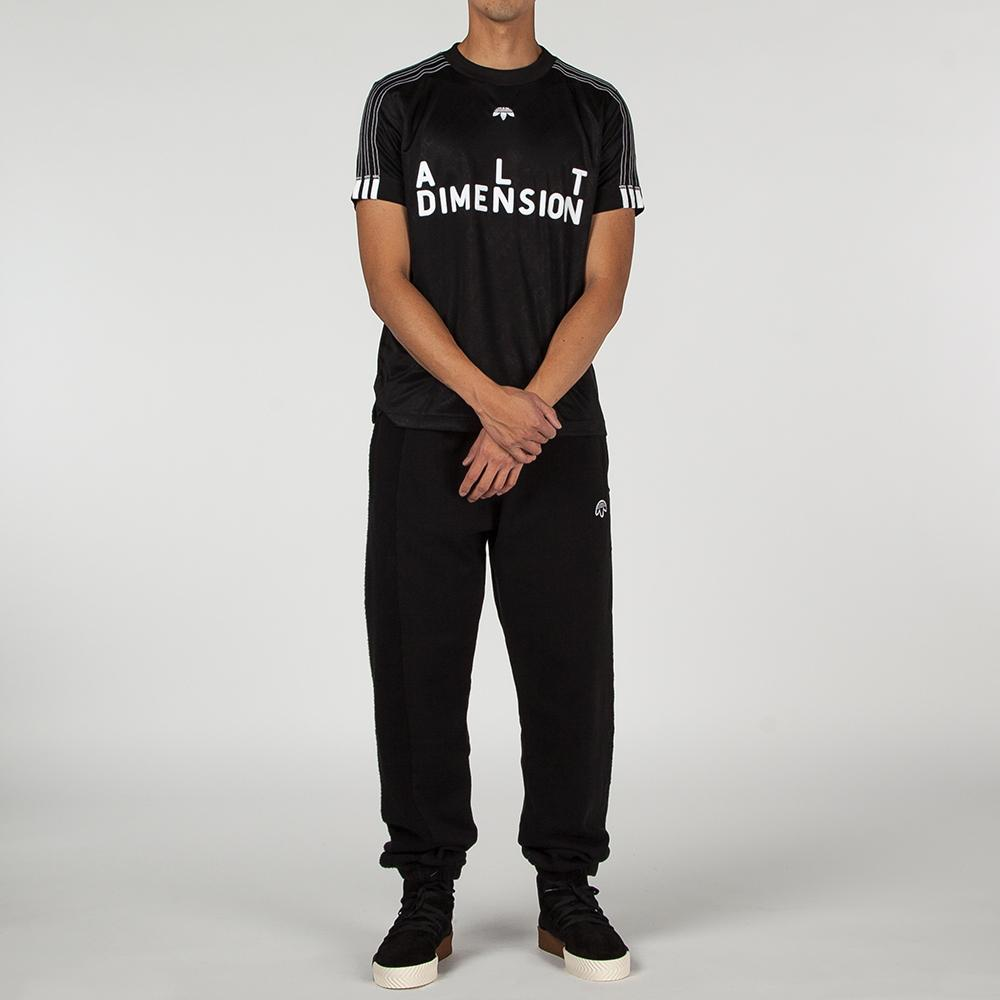 ADIDAS ORIGINALS BY ALEXANDER WANG SOCCER JERSEY II / BLACK