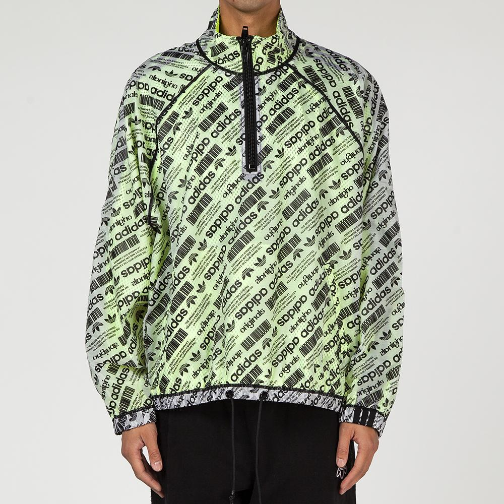 ADIDAS ORIGINALS BY ALEXANDER WANG WINDBREAKER WHITE / BLACK