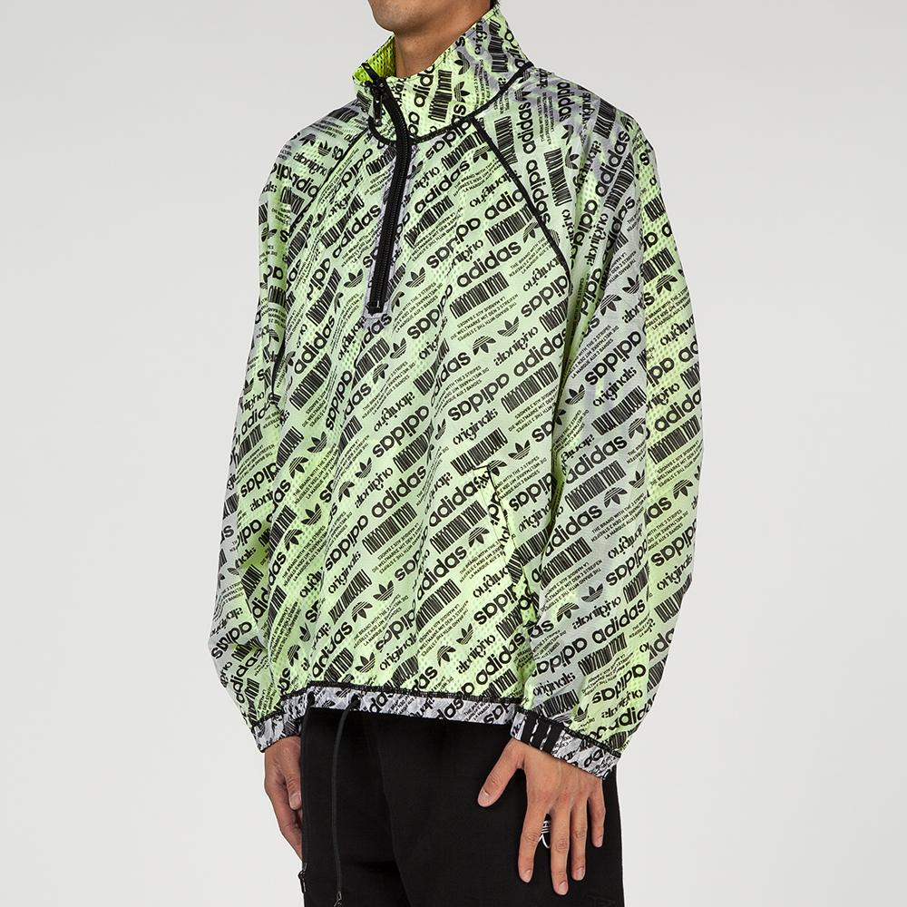 style code CG2008. ADIDAS ORIGINALS BY ALEXANDER WANG WINDBREAKER WHITE / BLACK