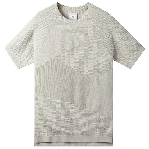 style code BK0228. ADIDAS CONSORTIUM X WINGS + HORNS PATCH T-SHIRT / HINT FOG