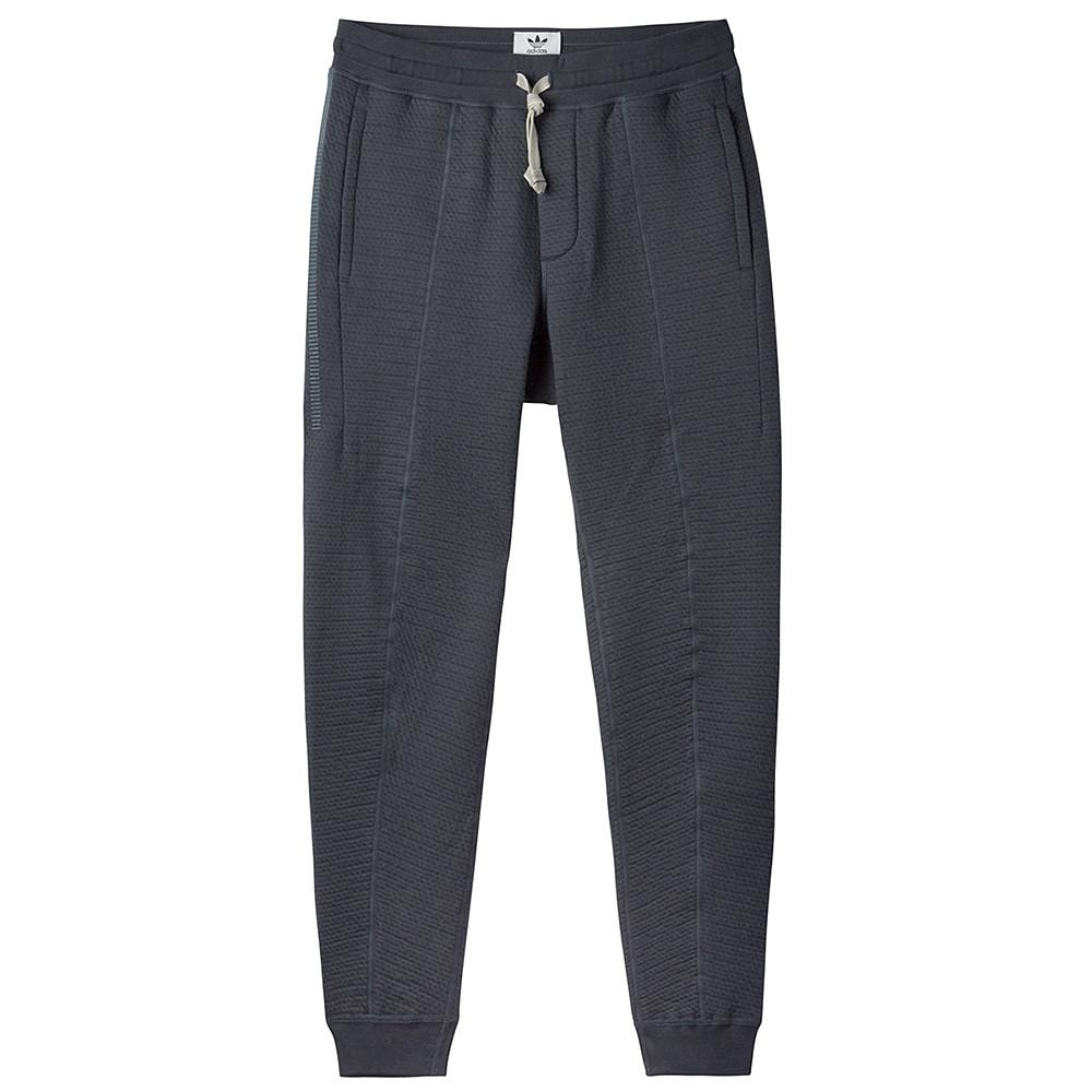 style code BI6762. ADIDAS CONSORTIUM X WINGS + HORNS CABIN FLEECE PANTS / NIGHT GREY