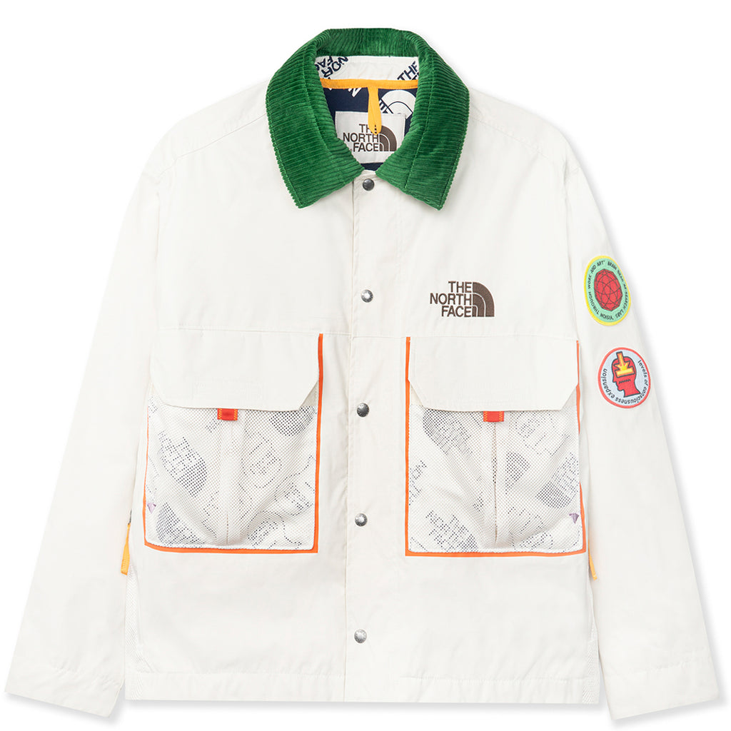 Brain Dead x The North Face 76 Oversized Mountain Chore Coat / Vintage White