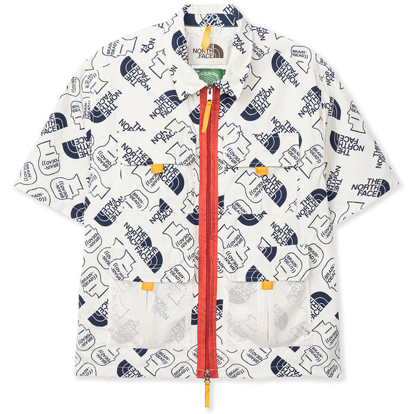 Brain Dead x The North Face 76 Boxy SS Mountain Shirt / Vintage White