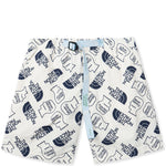 Brain Dead x The North Face Baggy Climber Short / Vintage White