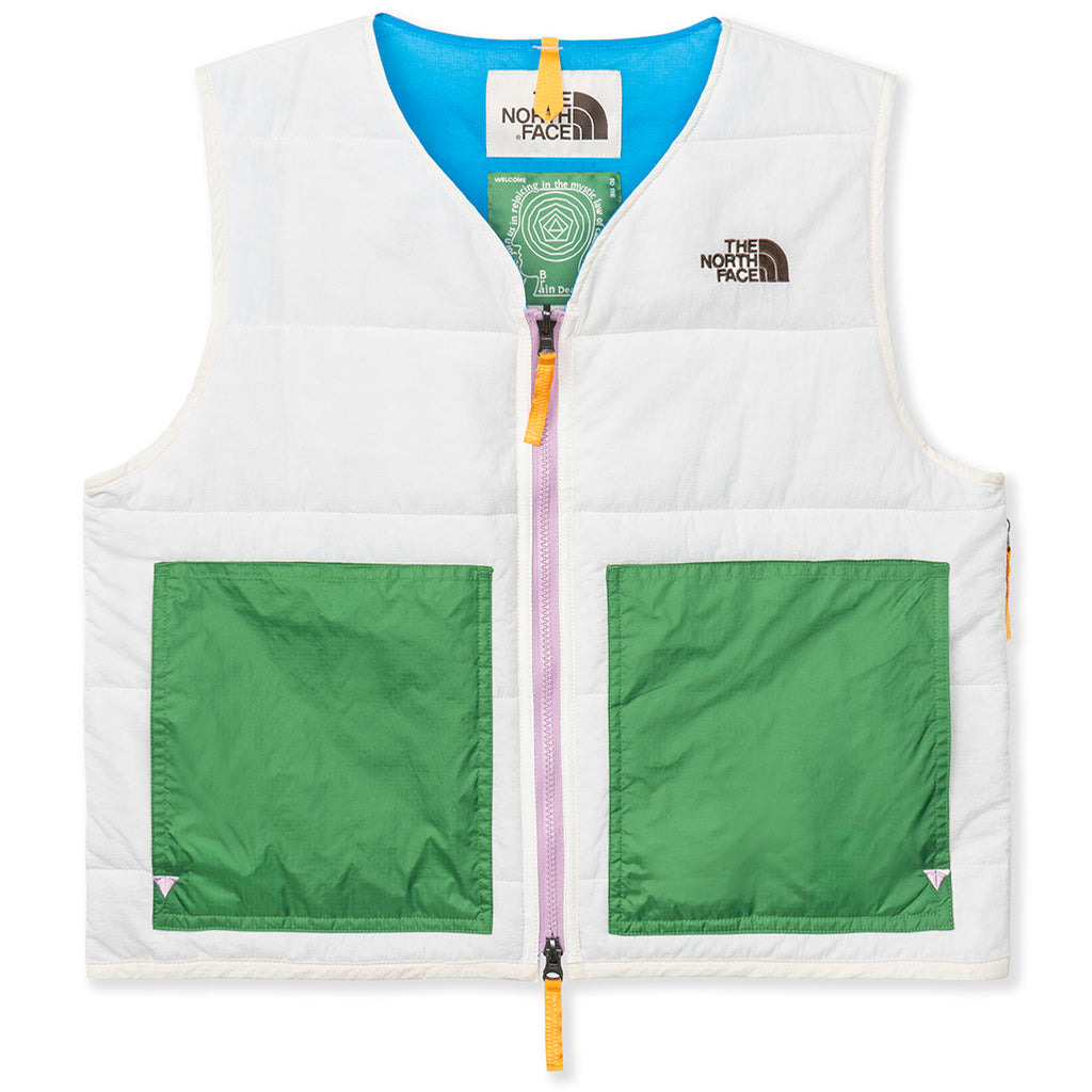 Brain Dead x The North Face 68 Sierra Vest / Vintage White