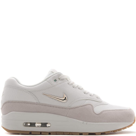Style code AA0512-100. NIKE WOMEN'S AIR MAX 1 PREMIUM SC / SUMMIT WHITE