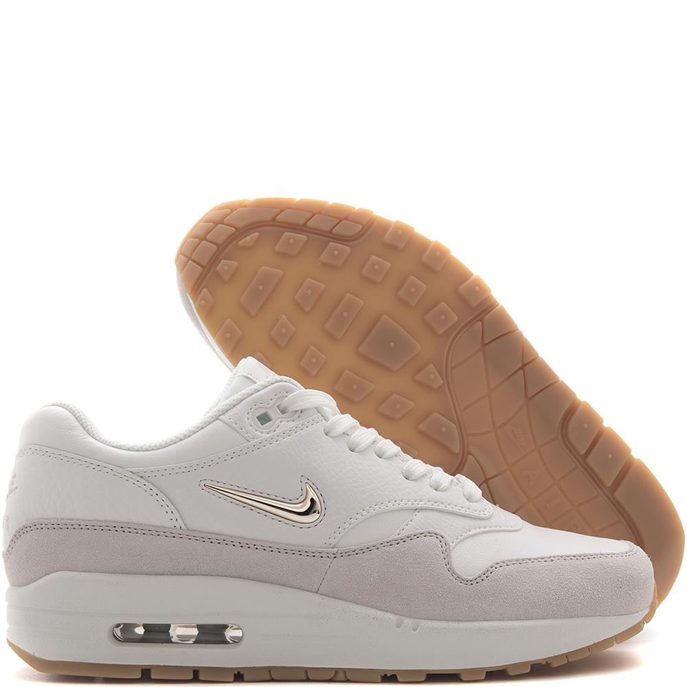 NIKE WOMEN'S AIR MAX 1 PREMIUM SC / SUMMIT WHITE