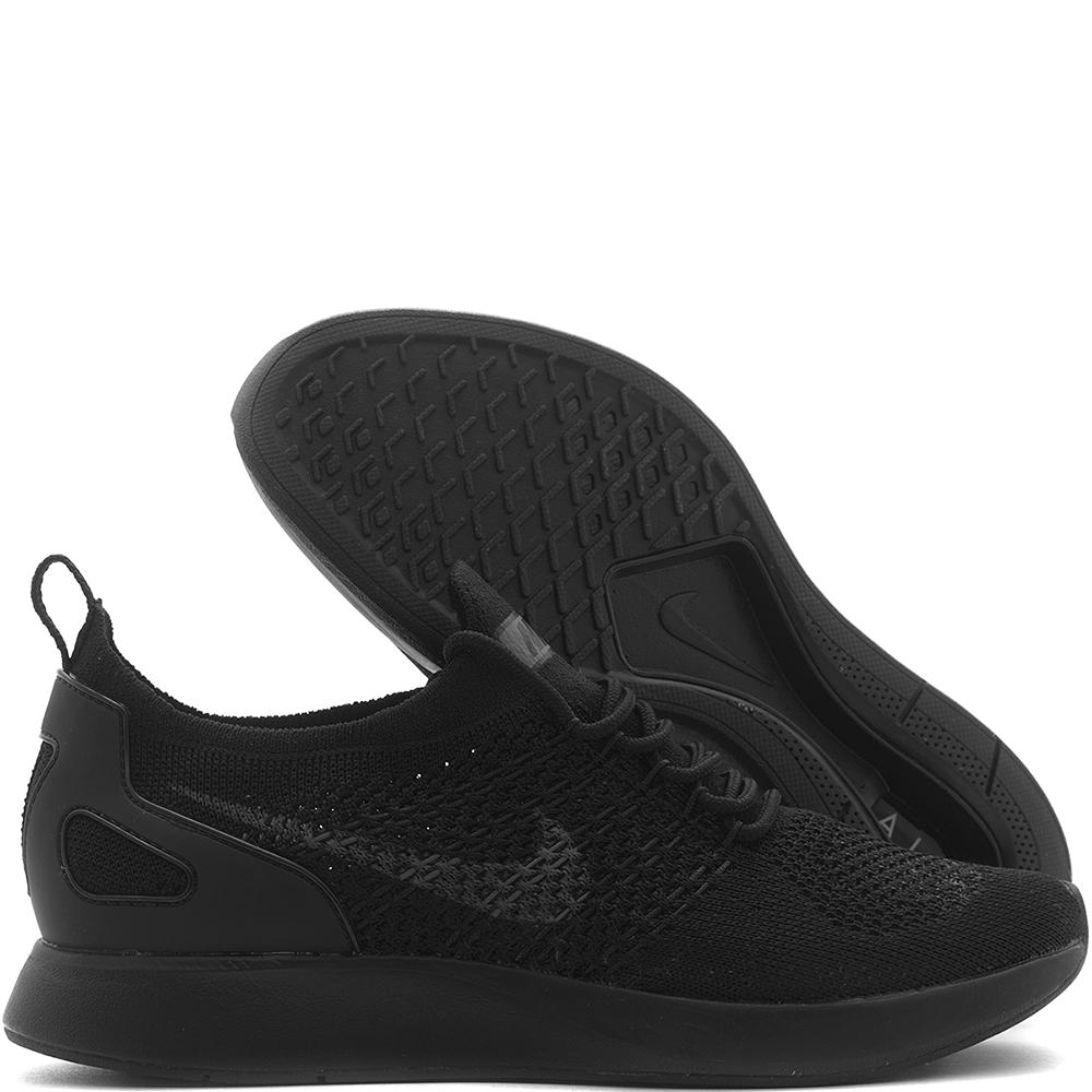 NIKE WOMEN'S AIR ZOOM MARIAH FLYKNIT RACER / BLACK