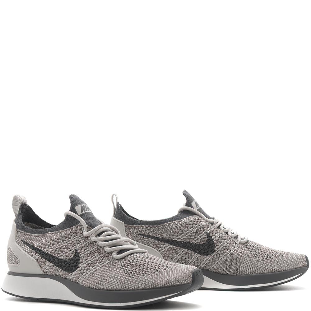 style code  AA0521-002. NIKE WOMEN'S AIR ZOOM MARIAH FLYKNIT RACER / PALE GREY