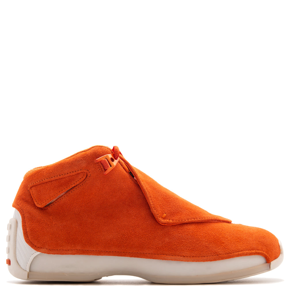 Jordan 18 Retro Suede Pack / Campfire Orange
