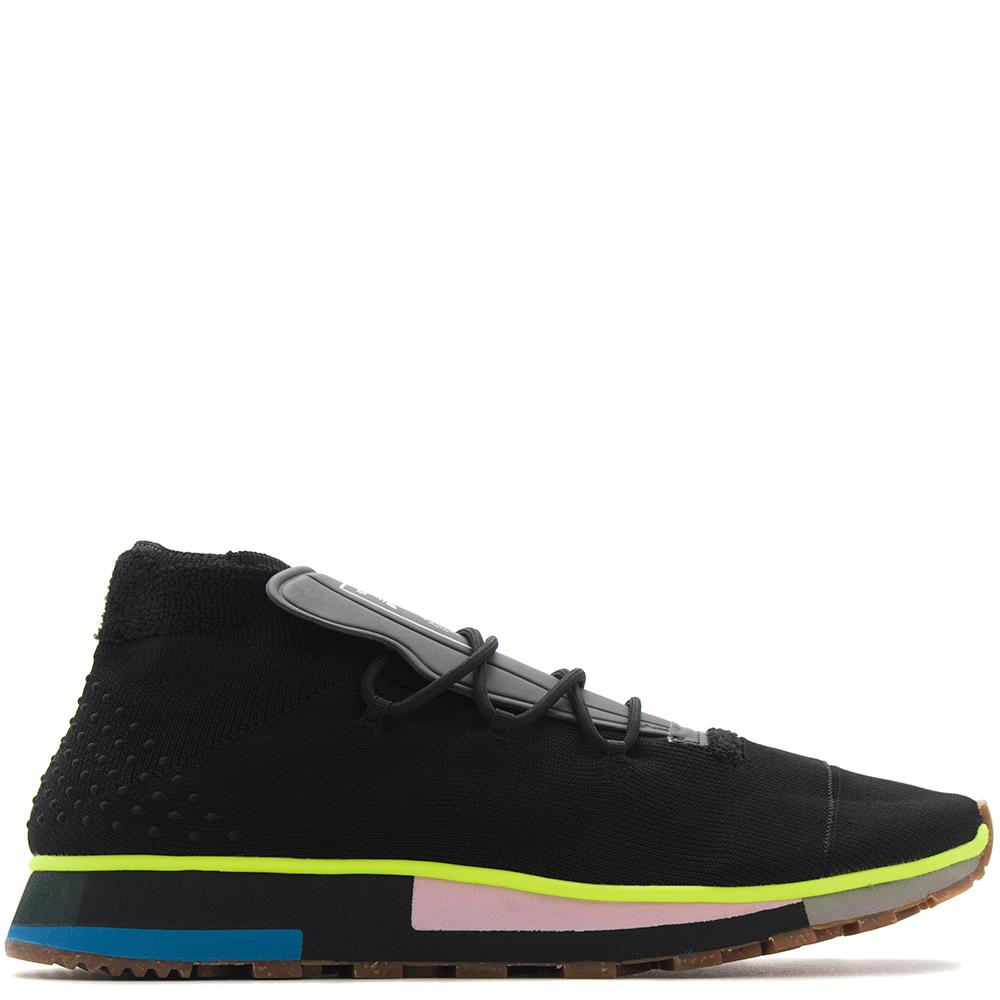 style code AC6846. ADIDAS BY ALEXANDER WANG RUN MID / BLACK