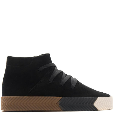 style code AC6850. ADIDAS BY ALEXANDER WANG SKATE MID / BLACK