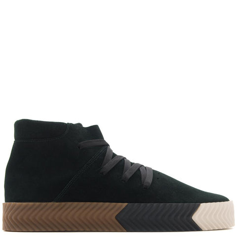 style code AC6851. ADIDAS BY ALEXANDER WANG SKATE MID / GREEN NIGHT