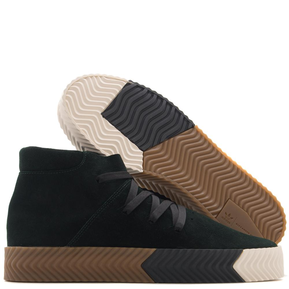ADIDAS ORIGINALS BY ALEXANDER WANG SKATE MID / GREEN NIGHT