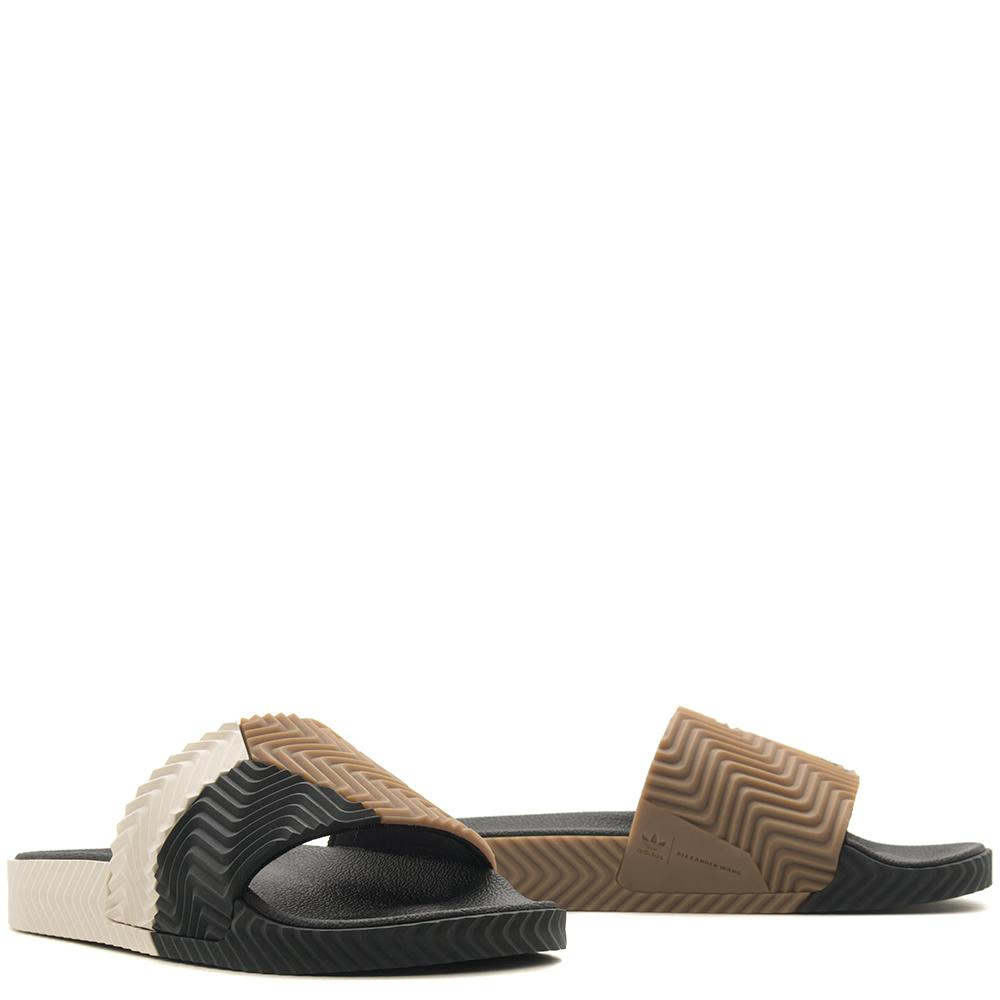 ADIDAS ORIGINALS BY ALEXANDER WANG ADILETTE / BLACK
