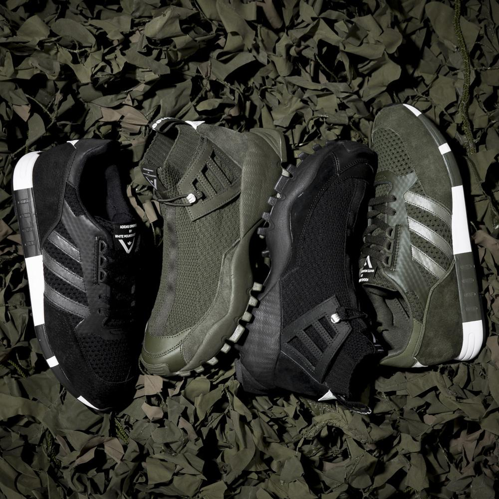 ADIDAS ORIGINALS BY WHITE MOUNTAINEERING SEEULATER ALLEDO PRIMEKNIT / BLACK