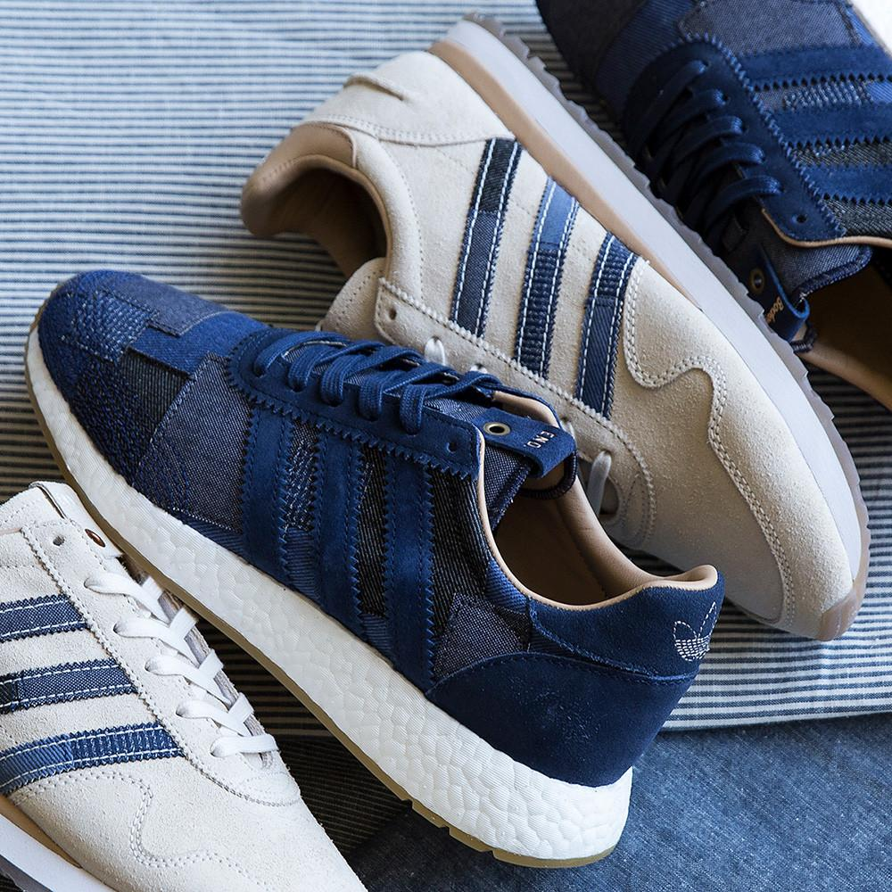 ADIDAS CONSORTIUM X END X BODEGA HAVEN SE WHITE / BLUE