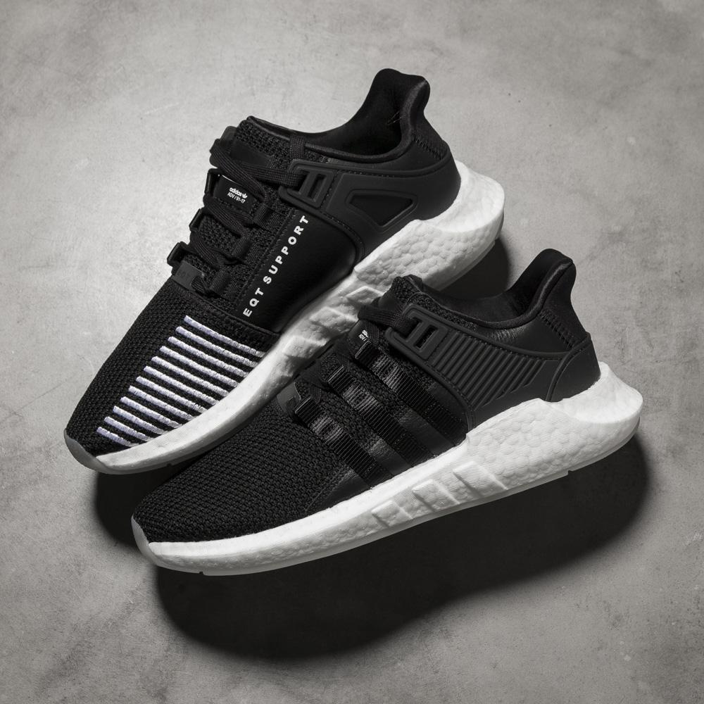adidas EQT Support 93 17   Core Black – Deadstock.ca e7aeeb593