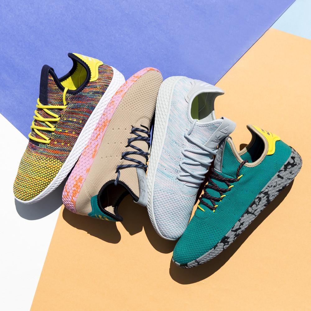 ADIDAS ORIGINALS BY PHARRELL TENNIS HU / MULTI