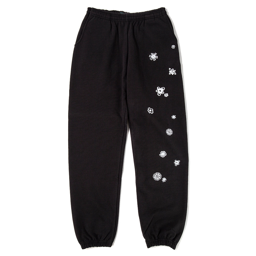 afield out Blossom Sweatpants / Black - Deadstock.ca
