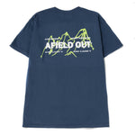 afield out Three Peaks T-shirt / Midnight