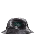 afield out Tie Dye Bucket Hat / Black