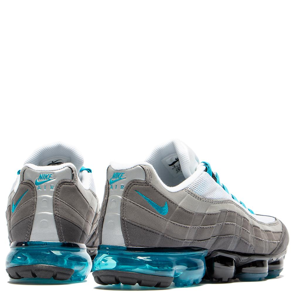 Style code AJ7292-002. Nike Air Vapormax 95 Black / Neo Turquoise