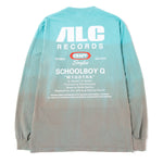 ALC Records Craft Singles #10 SBQ Long Sleeve T-shirt / Fish Tank Dip Dye