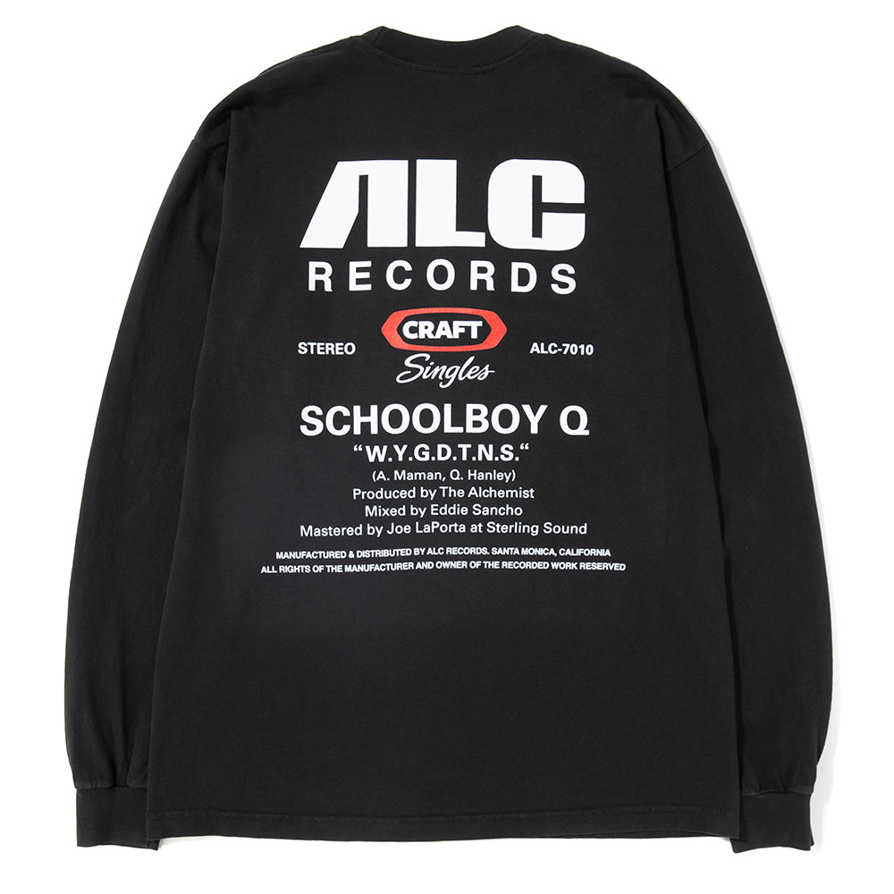ALC Records Craft Singles #10 SBQ / Black