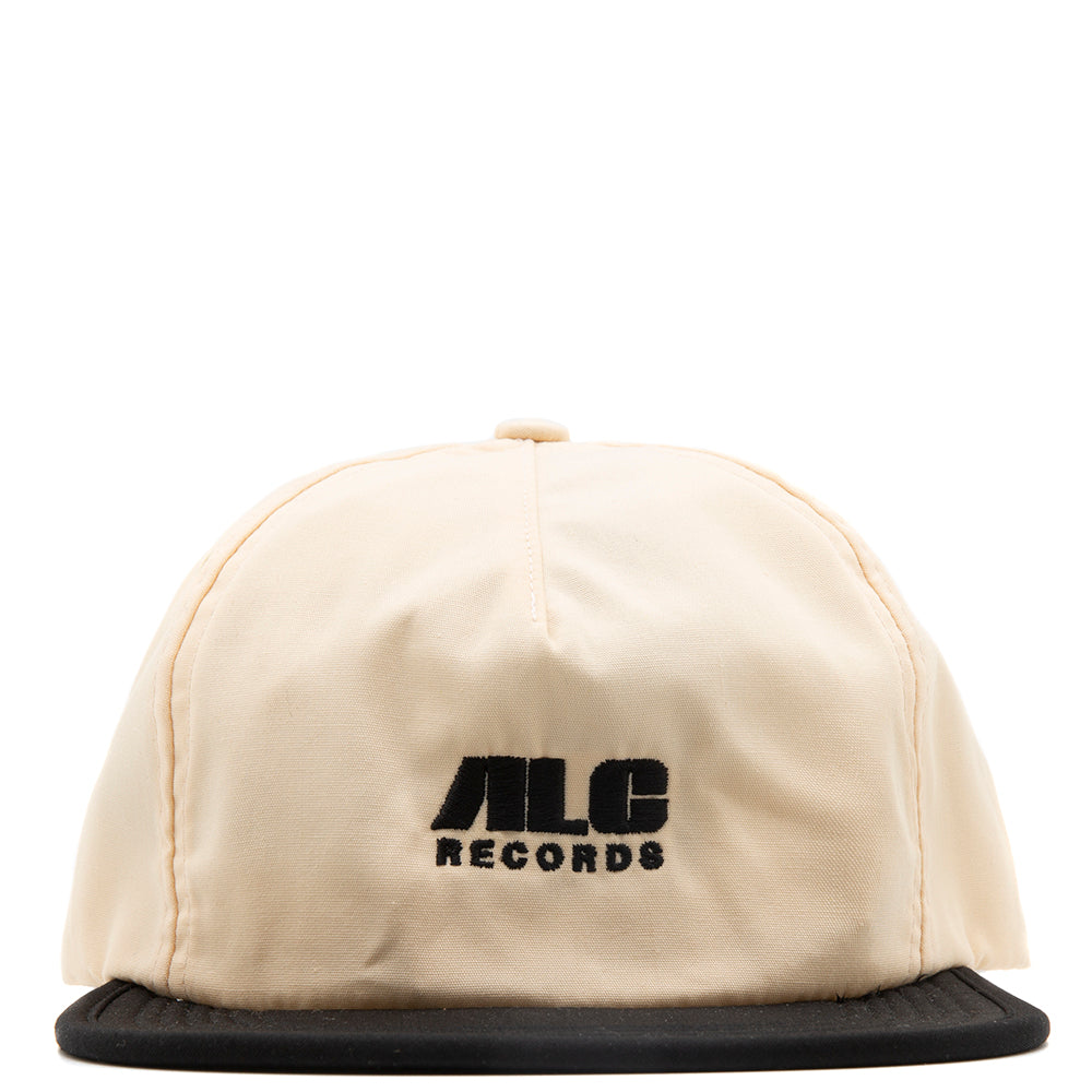 ALC Records x Real Bad Man Packable Cap / Cream