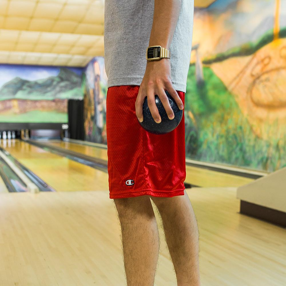 ALLTIMERS BALL FOREVER SHORTS / RED