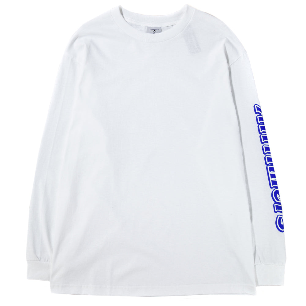 Style code ALLTIMSU183. Alltimers Choco Long Sleeve T-shirt / White