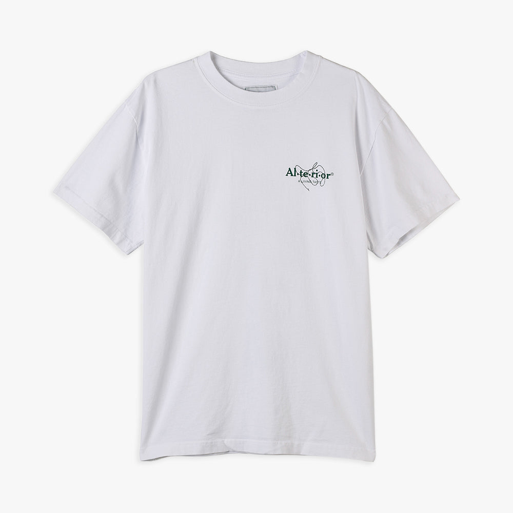 Alterior x JAM A Living Taste Rocks T-shirt / White