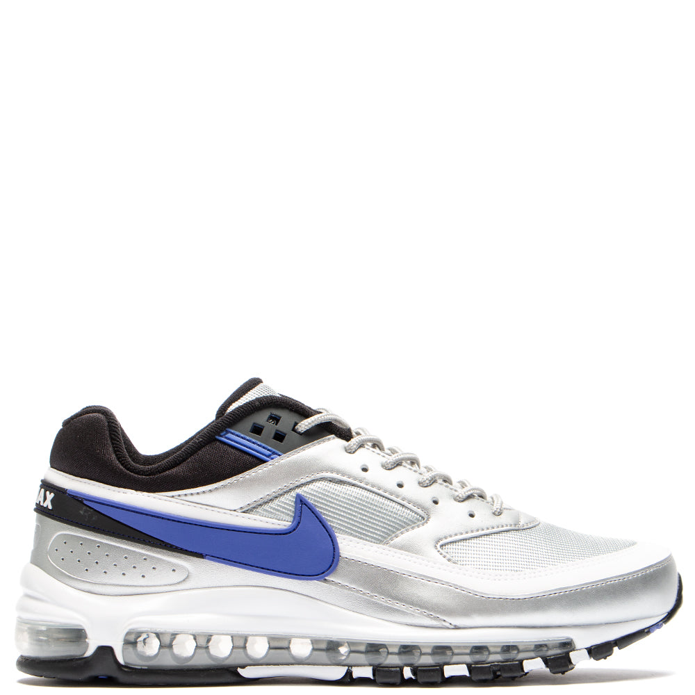 Style code AO2406-002. Nike Air Max 97/BW Metallic Silver / Persian Violet