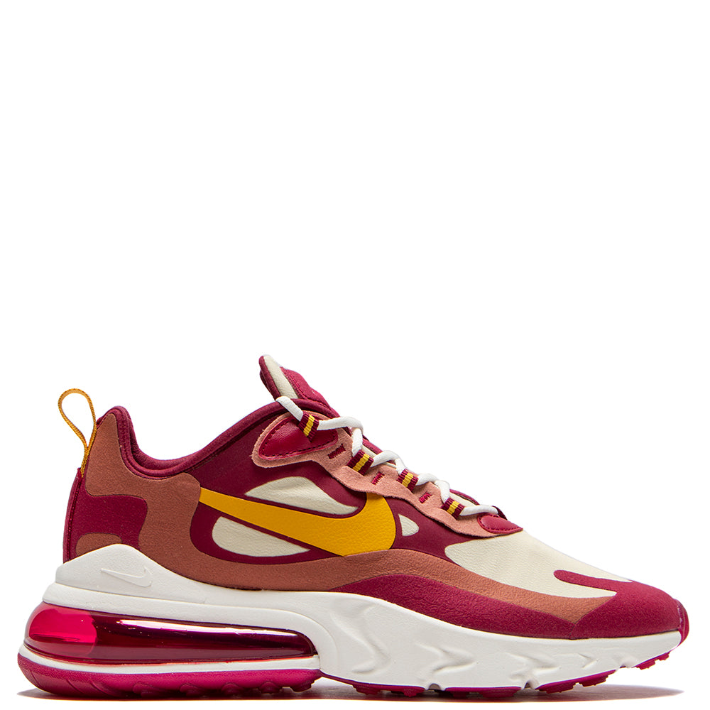 Nike Air Max 270 React Noble Red / Dark Sulfur