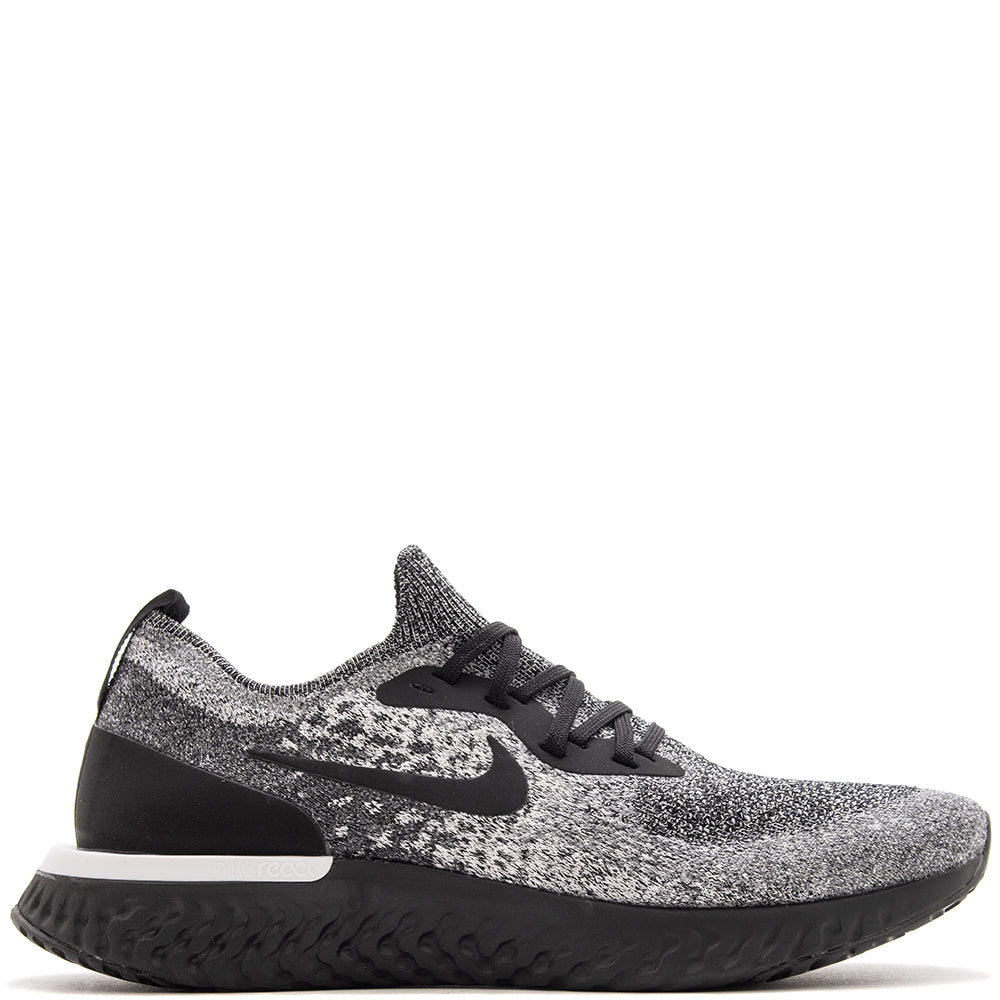 Nike Epic React Flyknit White   Black – Deadstock.ca f11d9882b199