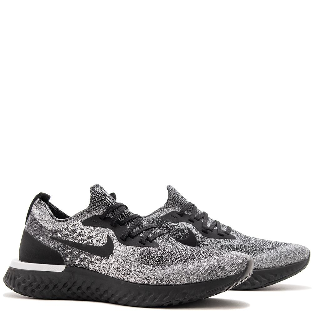Nike Epic React Flyknit White / Black