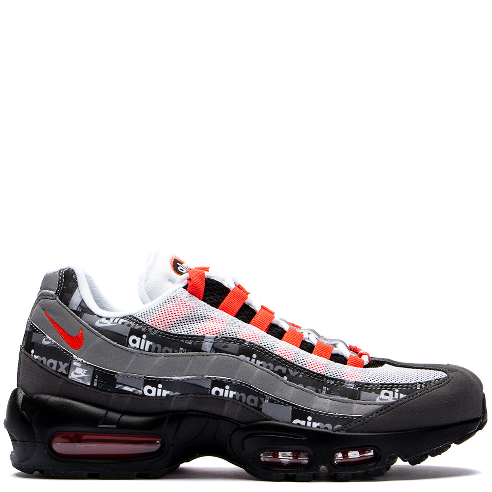 Nike x Atmos Air Max 95 Print Box Pack QS Black / Bright Crimson