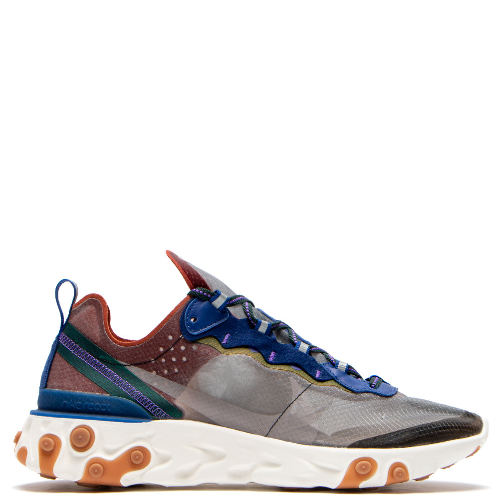 AQ1090-200 Nike React Element 87 Dusty Peach / Atmosphere Grey