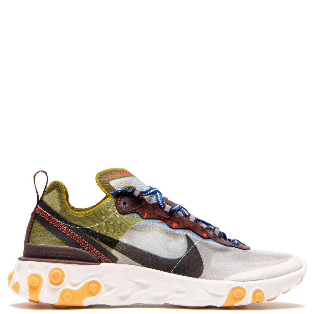 AQ1090-300 Nike React Element 87 Moss / Black