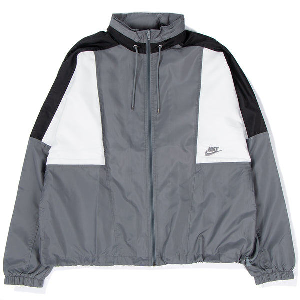 Style code AQ1890-065. Nike Sportswear Archive Jacket Cool Grey / Black