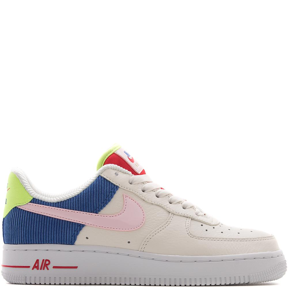 Style code AQ4139-101. Nike Women's Air Force 1 Low Corduroy / Sail