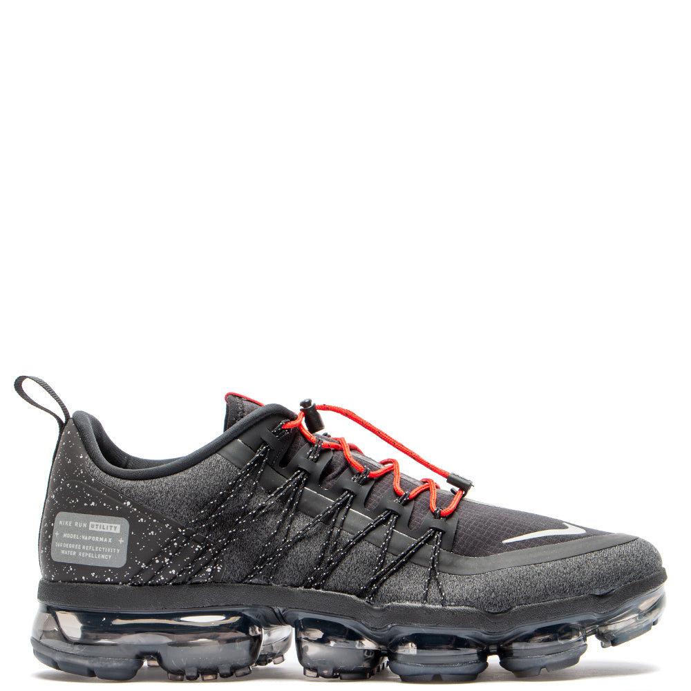 Style code AQ8810-001. Nike Air Vapormax Run Utility Black / Reflect Silver