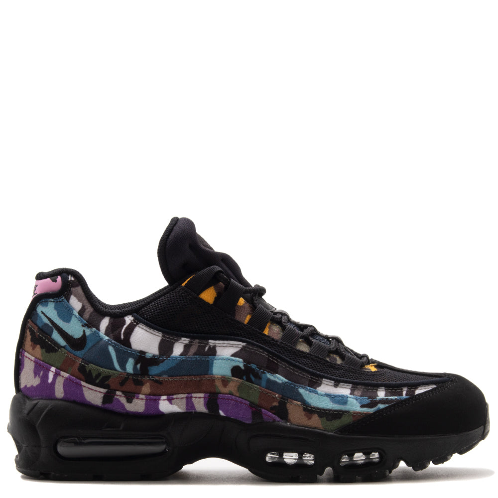 Style code AR4473-001. Nike Air Max 95 ERDL Party QS Black / Multi