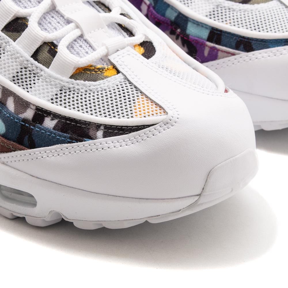 Style code AR4473-100. Nike Air Max 95 ERDL Party QS White / Multi