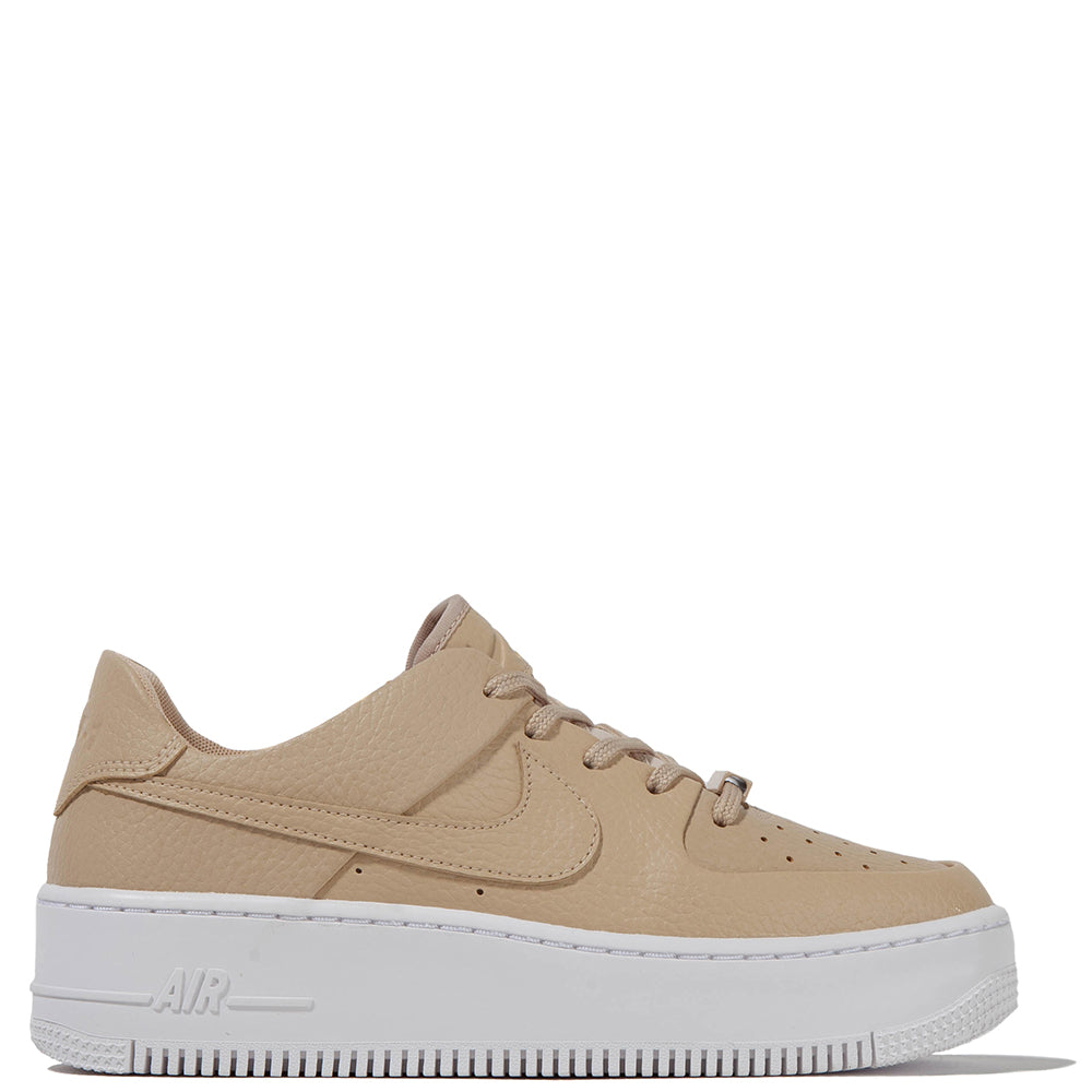 Nike Women's Air Force 1 Sage Low / Desert Ore - Deadstock.ca