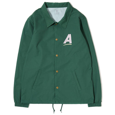 ALLTIMERS SEARS COACHES JACKET / GREEN - 1