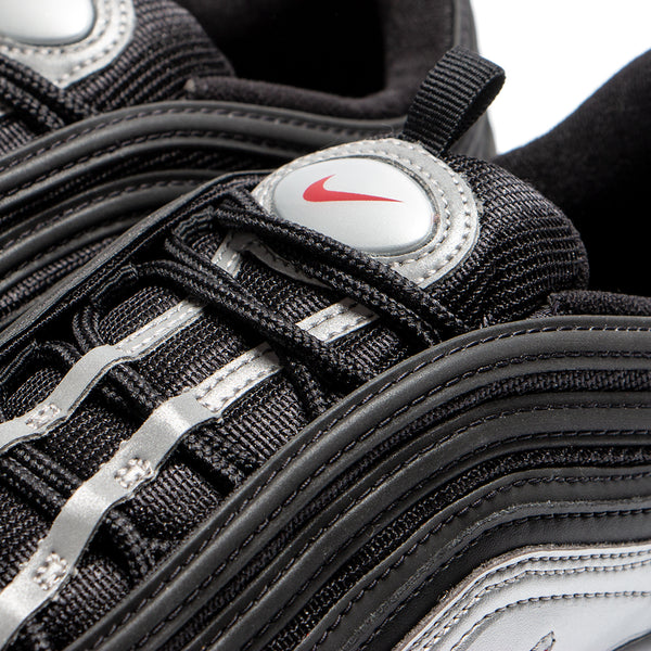 Style code AT5458-001. Nike Air Max 97 QS B-Side Black / Metallic Silver