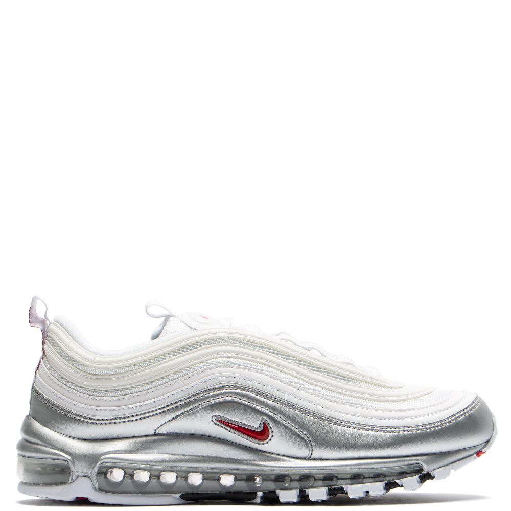 Style code AT5458-100. Nike Air Max 97 QS B-Side White / Varsity Red